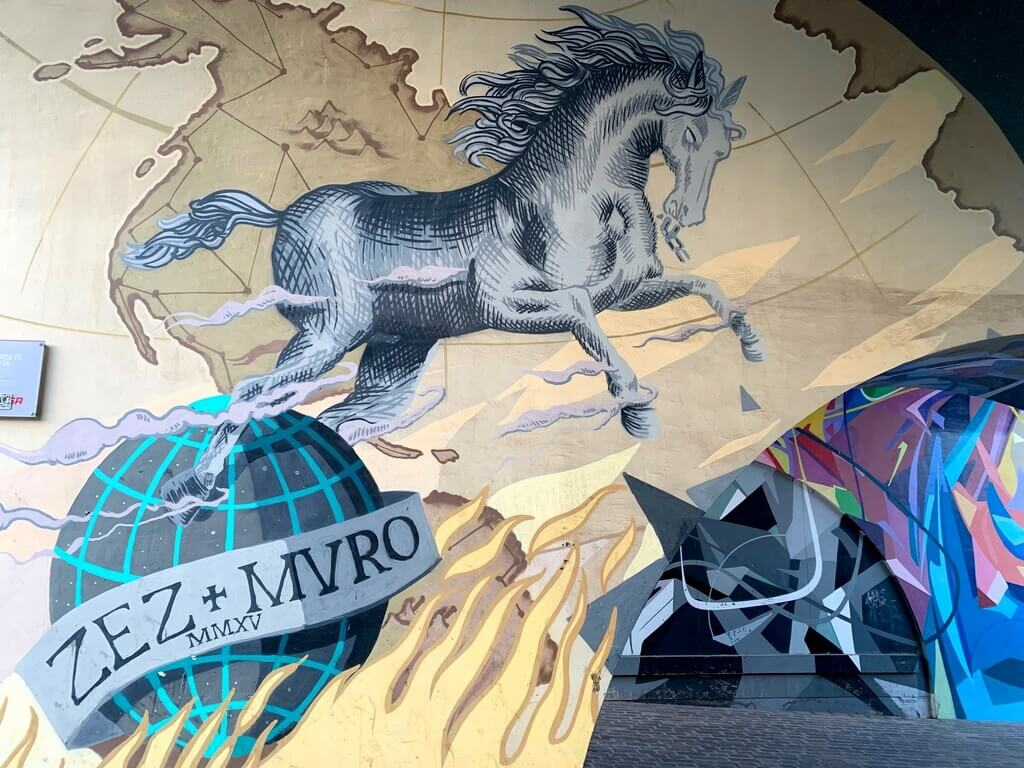 Street Art en Santa Cruz