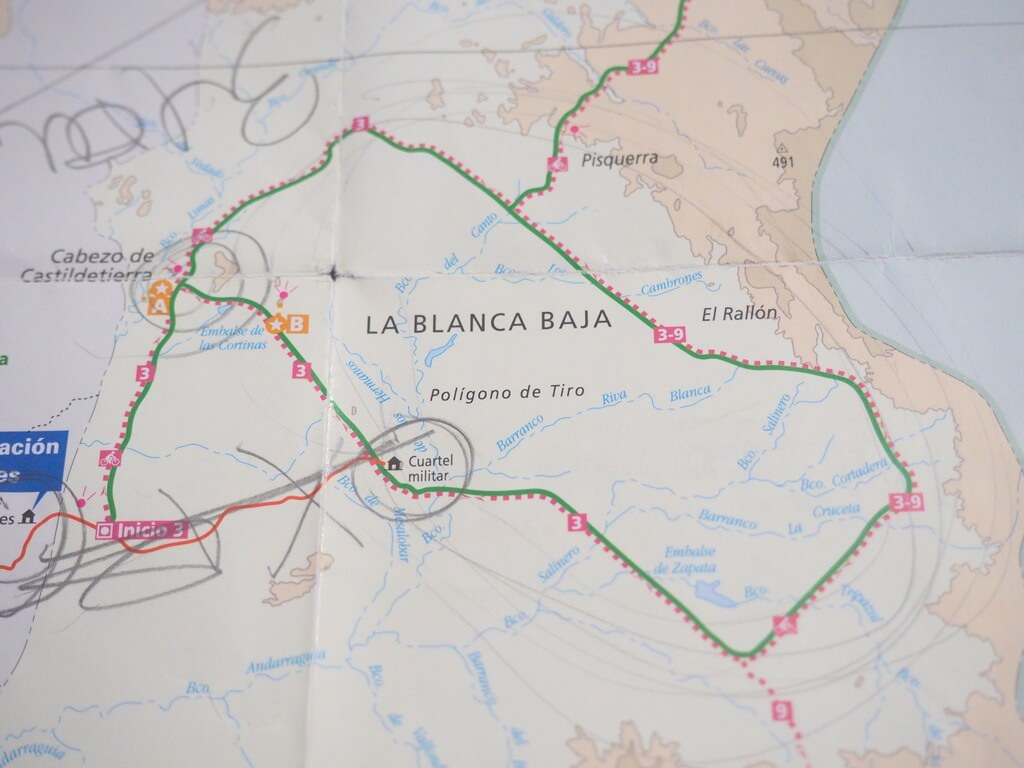 Ruta circular por la Bárdena Blanca