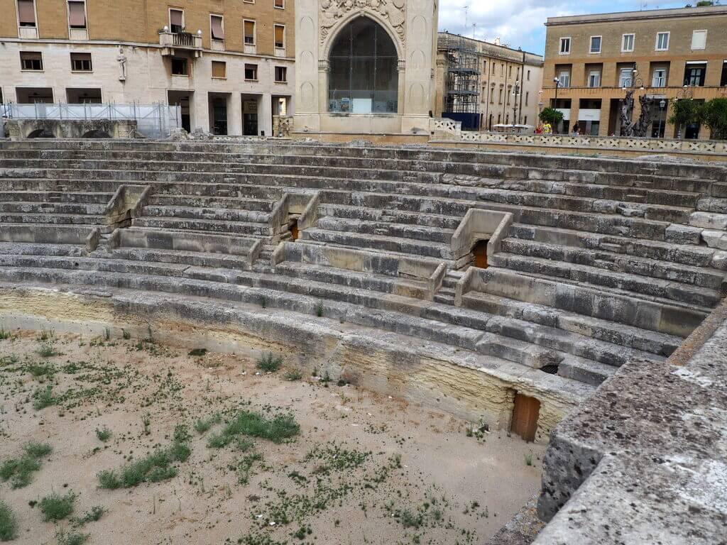 Anfiteatro romano de Lecce