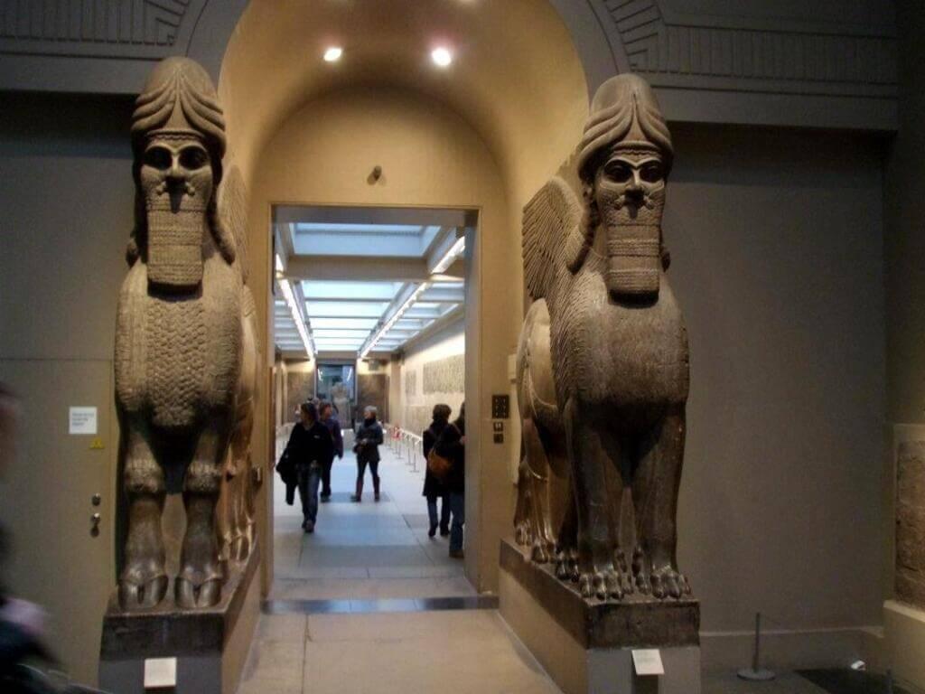 Interior del British Museum