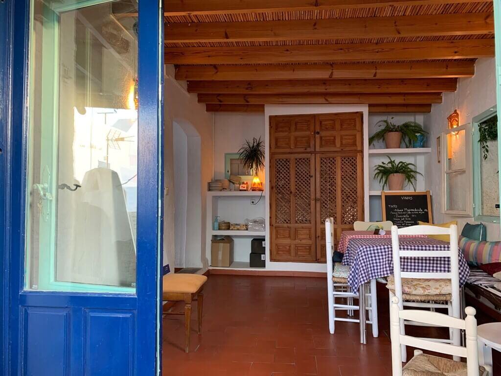 Interior de La Buganvilla