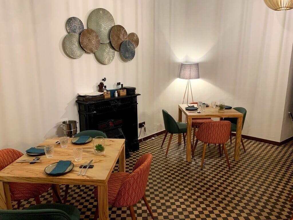 Interior Restaurante La Casona