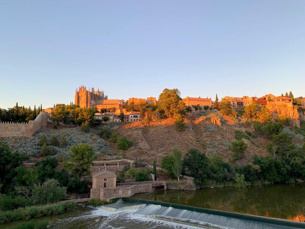 La judería de Toledo desde el Mirador del Puente de San Martín