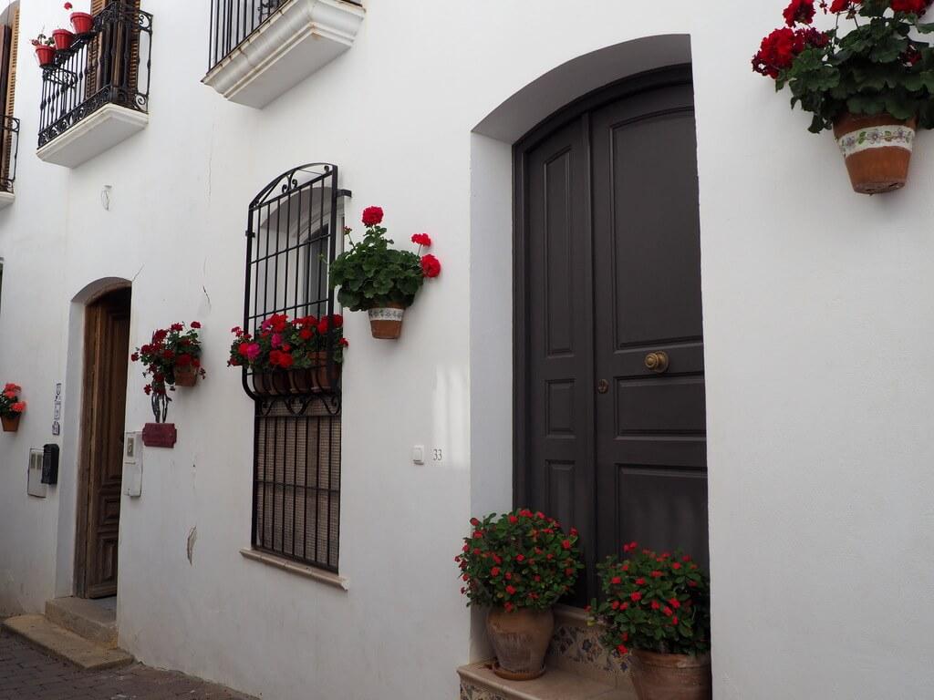 Una casa del barrio del Arrabal