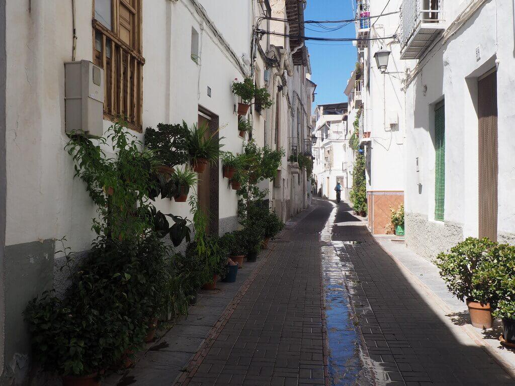 Calle principal del Hondillo, Lanjarón