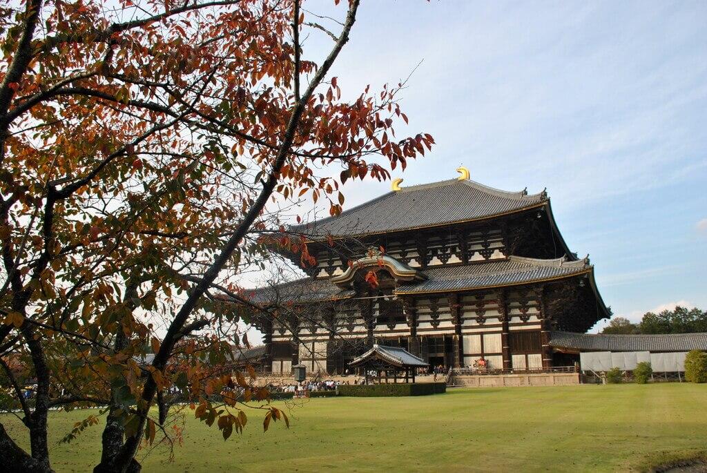 Sala principal del templo Todai-Ji
