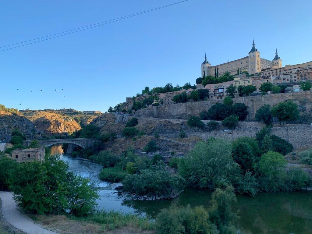 El Tajo y el Alcázar desde el mirador
