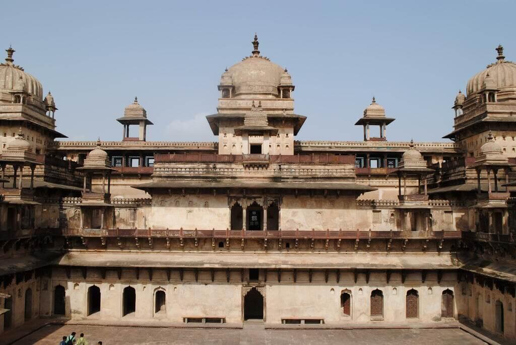 Interior del Jahangir Mahal