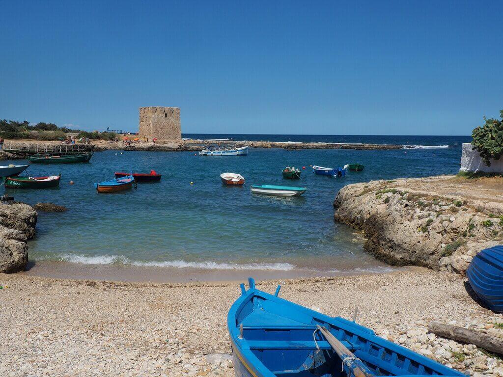 El bonito Puerto de San Vito