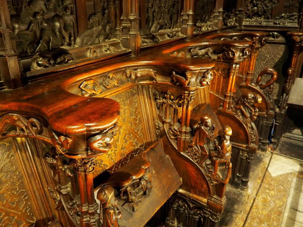 Sillería del Coro de la Catedral de Toledo