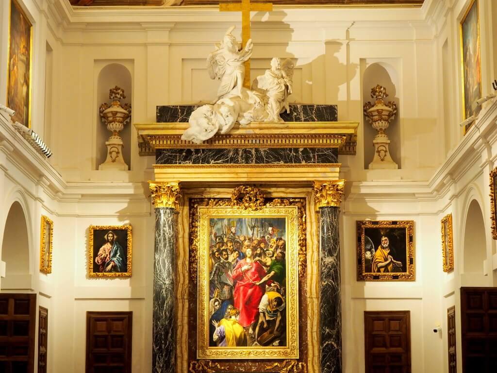 El Expolio de El Greco en la Sacristía